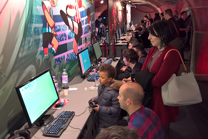 Super Arcade Football evento