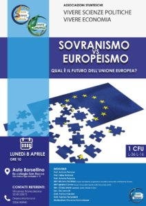 conferenza sovranismo vs europeismo