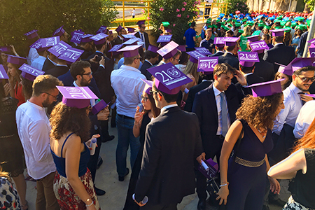 studenti GraduationDay2016
