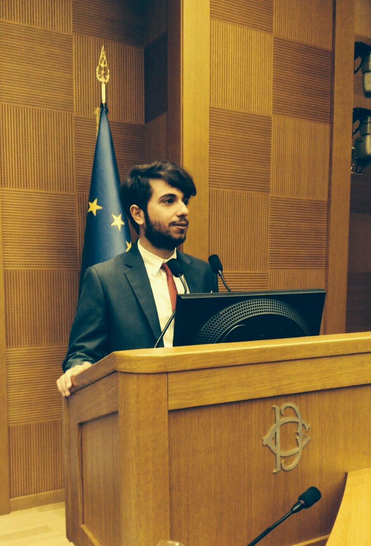Studente unipa premiato alla camera dei deputati dalla for Deputati alla camera